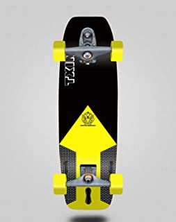 TXIN - surfskate Shaper Black 32 Tail Nose with t12 Surf ...