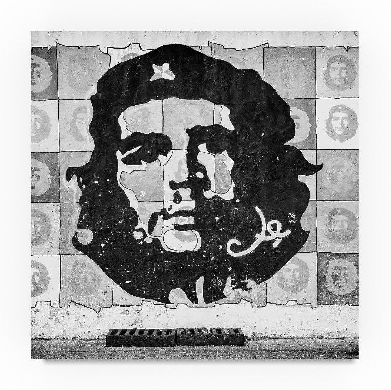 Trademark Fine Art Che Guevara Mural in Havana 4 by Philippe Hugonnard, Canvas Wall Art 14 x 14