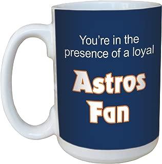 Tree-Free Greetings lm44088 Astros Baseball Fan Ceramic Mug with Full-Sized Handle, 15-Ounce