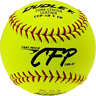 Dudley CFP Leather Fastpitch Softball-12 Pack