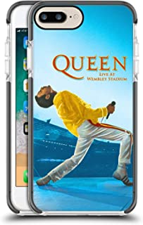 Head Case Designs Oficial Queen Freddie Mercury Live At Wembley Arte Clave Funda Protectora de Gel a Prueba de Golpes Comp...