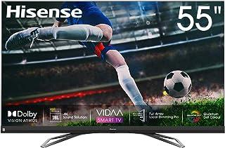 Hisense 55inch 55U8QF 4K ULED Ultra HD Smart TV VIDAA 4.0 Ultra HD Premium Certificate Quantum Dot color Dolby Vision Dolb...