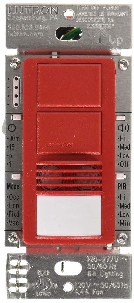 誓うアーチ構造的Lutron MS-A202-HT 回路占有センサースイッチ ホット