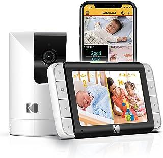 De slimme videobabyfoon KODAK CHERISH C525P biedt scherpe videobeelden, is gebruiksvriendelijk, makkelijk te installeren e...