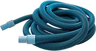 Aqua Select Premium Kink-Free Swimming Pool Vacuum Hoses with 1.5-Inch Swivel Cuff | 50-Feet Length | Hose Helper Included | Perfect for Above Ground and Inground Pools