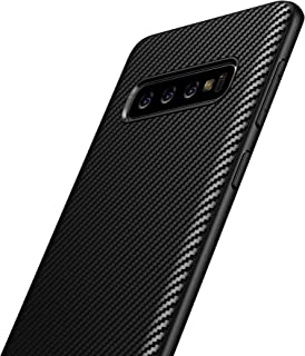 Galaxy S8 Plus TPU Case, Carbon Fiber Frosted Texture Black Pattern Durable Light Shockproof Cover Full Slim Fit Shell Soft TPU Silicone Case for Samsung Galaxy S8+ / S8 Plus