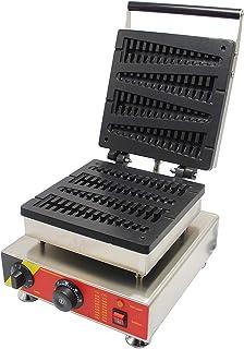CGOLDENWALL Gaufrier Cr/êpi/ère Machine /à Beignets Donutera 4 en 1 Antiadh/ésive avec 4 Assiettes Amovibles et Interchangeables 0-200 ℃ Thermostat R/églable Machine + 4 plaques