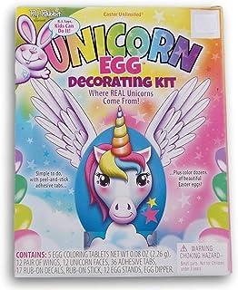 Easter Unlimited Unicorn Easter Egg Decorating Kit