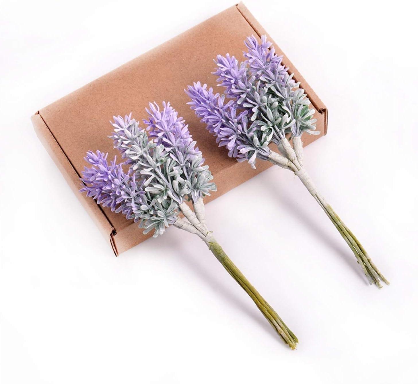 service JJSNN Artificial Flowers 6pcs Ranking TOP8 F Mini Lavender