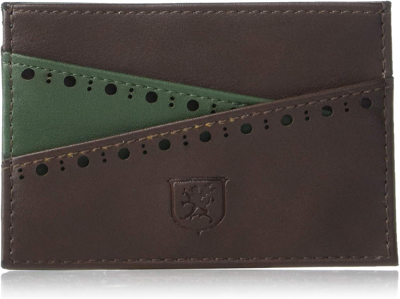STACY ADAMS Men's Archer Card Case Wallet