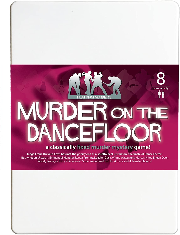 Murder on the Dancefloor 8 Player Murder Mystery Dinner Party Game