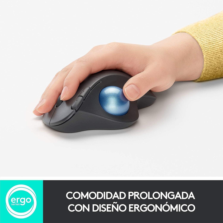Ratón trackball inalámbrico Logitech ERGO M575 por 37,99€ ¡¡14% de descuento!!