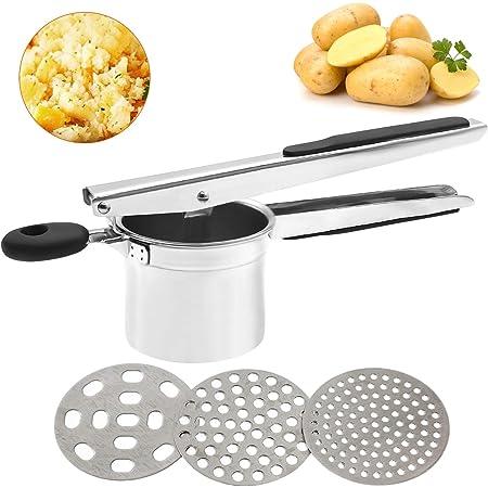 frutto e patate in acciaio INOX per patate Schiacciapatate SLKIJDHFB