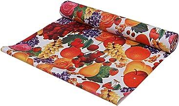 غطاء رف ودرج خزانة المطبخ من بلاستيك بي في سي من كوبر اندستريز، لفة بطول 10 متر، كريمي