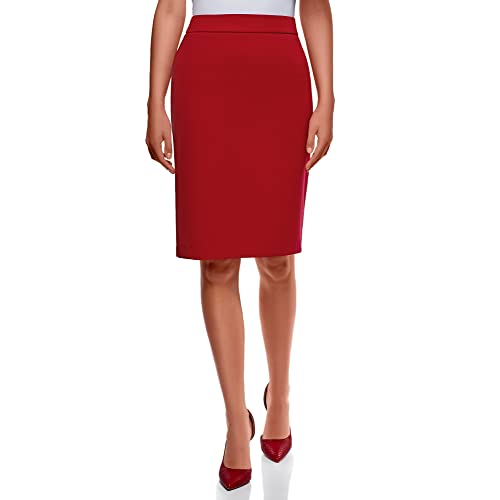 a969520be oodji Collection Women's Basic Pencil Skirt