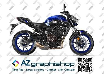 Motorrad Fairing Stickers Kit Yamaha Mt 07 2018 2020 Fs Mt 07 2018 2020 Blue Auto