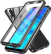 LeYi pour Coque Huawei P Smart 2019 avec Protection d'écran intégrée, 360 Degrés intégrale Bumper Antichoc TPU Souple et PC Rigide Etui Housse pour Huawei P Smart 2019 Noir