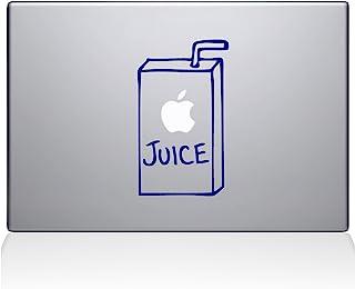 "The Decal Guru 1008-MAC-13X-DB Apple Juice Vinyl Sticker, 13"" Macbook Pro (2016 & newer), Blue"
