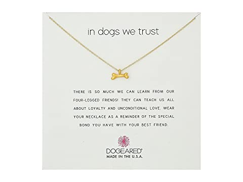 In Dogs We Trust, Dog Bone Necklace
