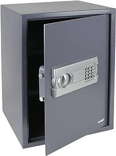 HMF 4612512 Caja fuerte cerradura electrónica 50 x 35 x 33