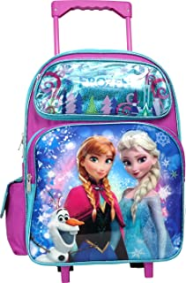 elsa and anna rolling backpack