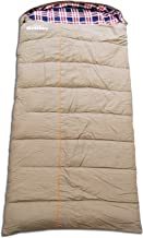 crossROBBIN 0 Degree Sleeping Bag, Canvas and Removable Flannel, Left & Right, XXL