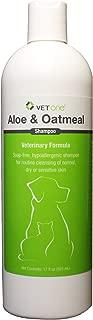 Aloe & Oatmeal Shampoo for Dogs [Vet One] (17 oz)