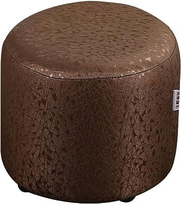 Amazon.com: Taburete de soporte de madera acolchado de ...