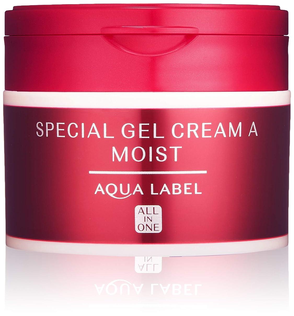 好意普通の期待してAQUALABEL(アクアレーベル) アクアレーベル スペシャルジェルクリームA (モイスト) ハーバルローズの優しい香り 単品 90g