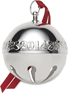 Wallace 2014 44th Edition Silver-Plated Sleigh Bell Ornament
