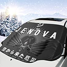ENXIANGXIJ Jenova Calamity from The Skies Final Fantasy VII Car Windshield Snow Cover, Ice Removal Sun Shade, Fit for Universal Cars (58'' X47'')