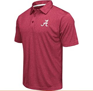 Colosseum Men's NCAA Heathered Trend-Setter Golf/Polo Shirt
