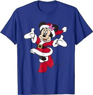 Santa Minnie Mouse Holiday T-Shirt