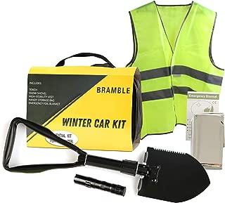 Gilet Supporto Levigante Cavo Batteria Auto e Pacchetto Medico FEMOR Auto Urgente Kit con Guanti in Gomma ECC.