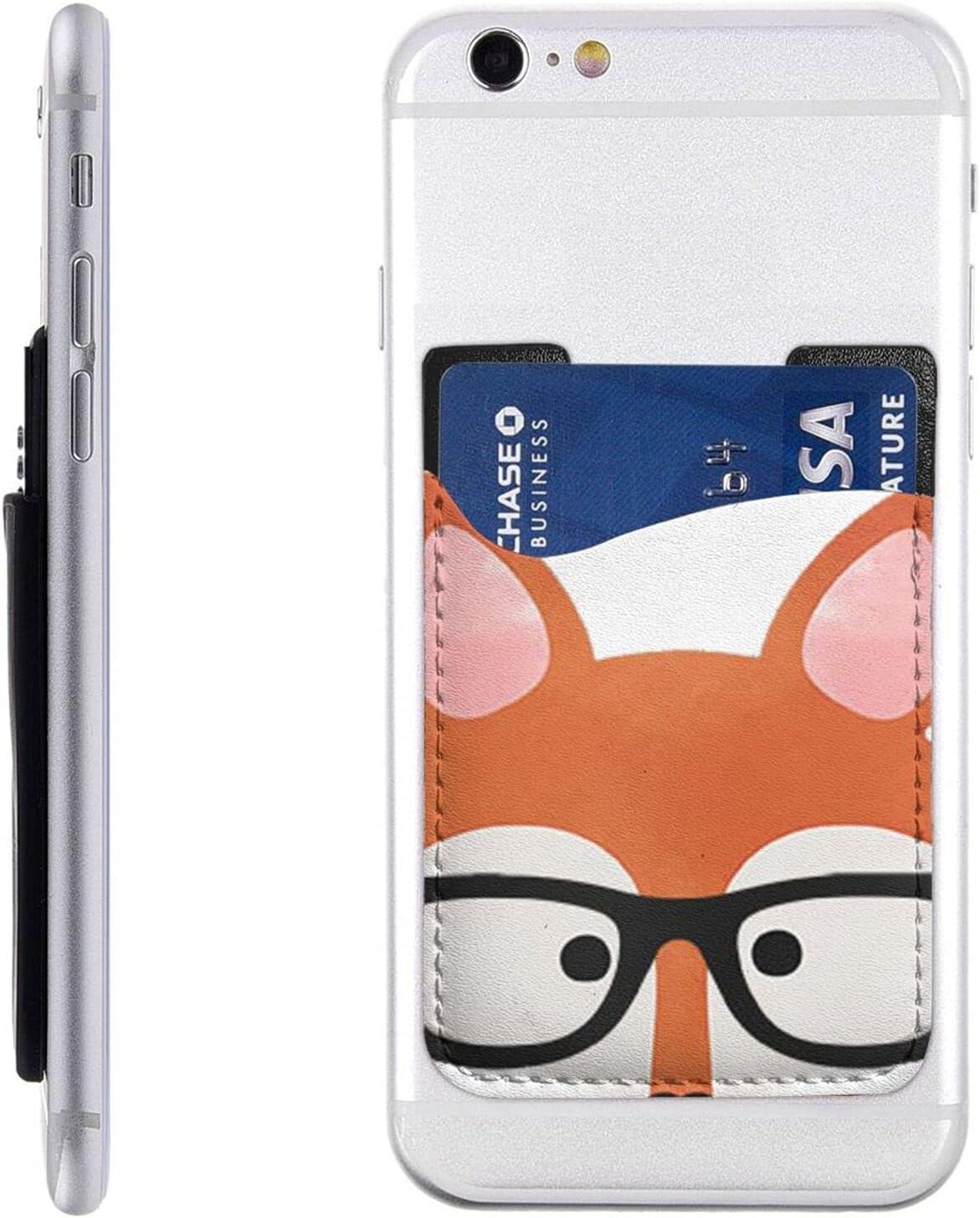 Cartoon Fox Head Phone Card Industry No. 1 Wall Holder Stick On Cell Oakland Mall