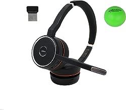 $229 » Jabra Evolve 75 UC Wireless Headset Bundle with Renewed Headsets Stress Ball- Without Charging Base 7599-838-109