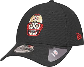 New Era 39Thirty Diamond Cap SUGAR SKULL San Francisco 49ers - L/XL
