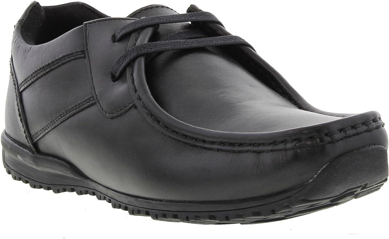 Ikon Tide Lace Up Black shoes