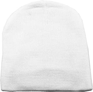Simplicity Women/Men Basic Solid Color Warm Knit Ski Snowboarding Beanie Hat