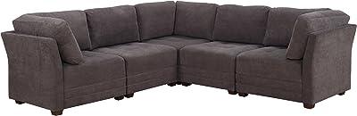 Amazon.com: Divano Roma Furniture Large Classic Sofa ...
