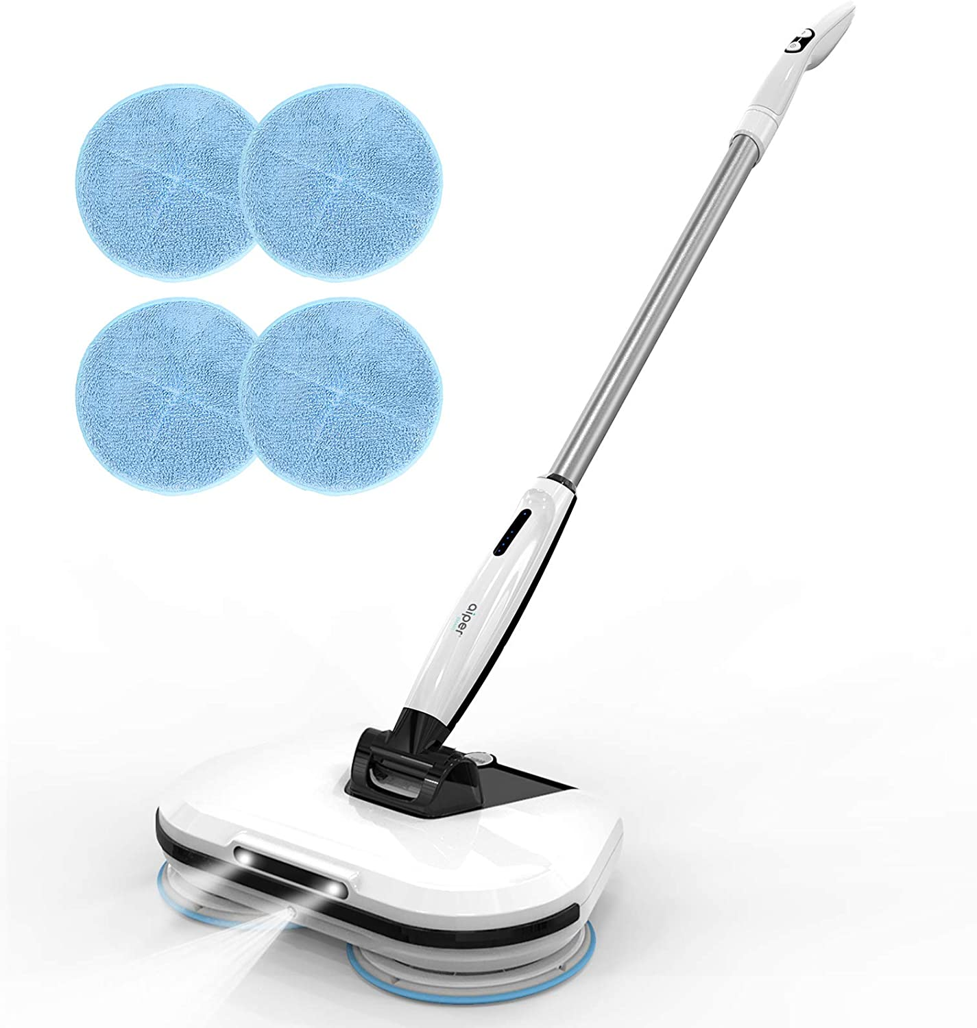 AIPER SMART Cordless At the price of surprise Electric Spin Mop with Headlight Hardw LED Topics on TV