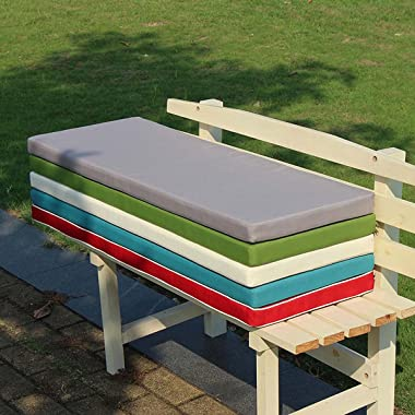 XIATGE Bench or Porch Swing Cushion 36x14-Inch Weather Resistant Outside Replacement Cushion for Patio Furniture Outdoor/Indo