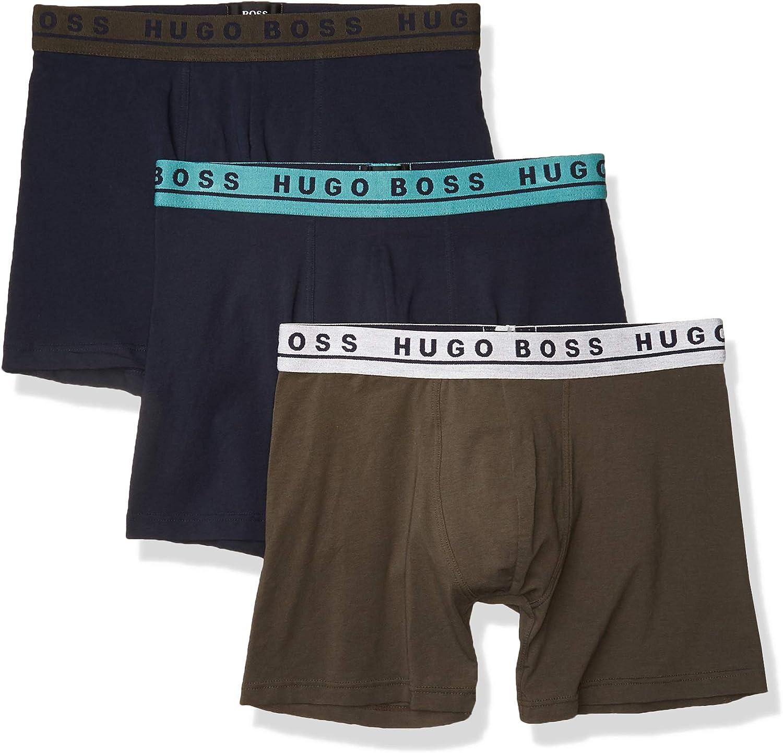 BOSS Men's 3-Pack Boxer Briefs