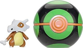 Wicked Cool Toys Pokémon Clip 'N' Go - Cubone & Dusk Ball Poké Ball