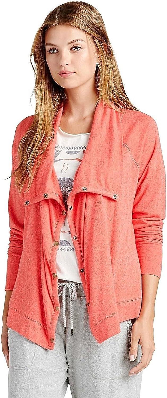 Lucky Brand - Women's - Drapey Snap Active Knit Cardigan Jacket