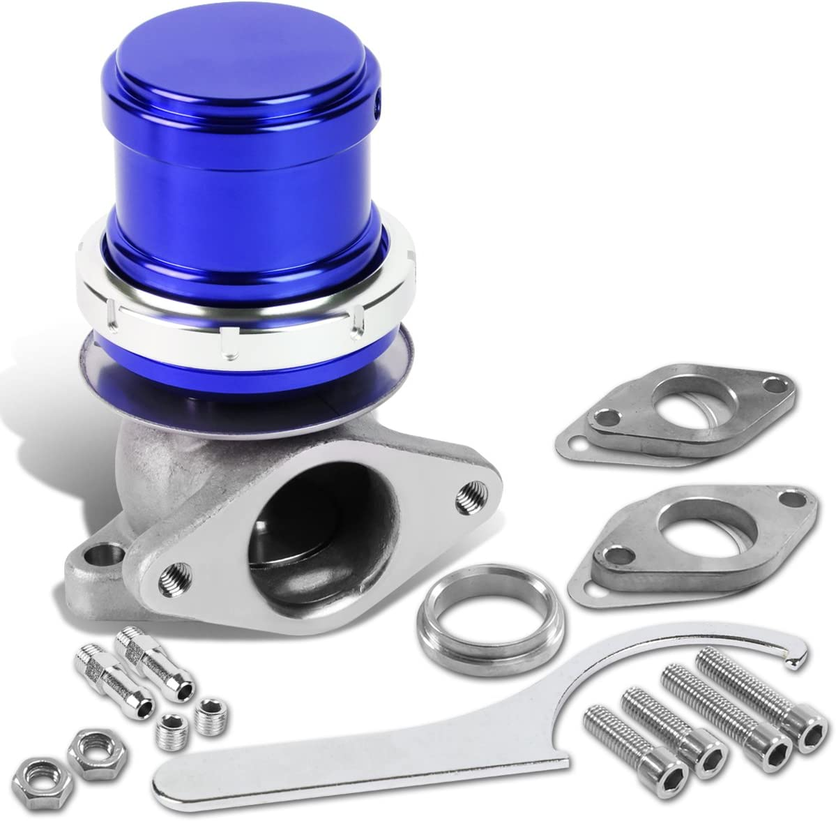 DNA Motoring WG-TS-38MM-T33-BL External Turbo All items free Directly managed store shipping Manifold Wastegate