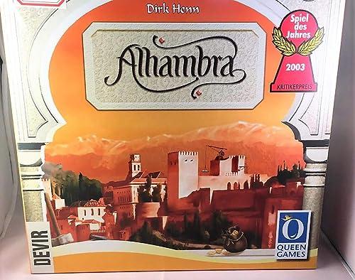 tienda en linea Lotedevir Juego Juego Juego de Mesa Alhambra  se descuenta