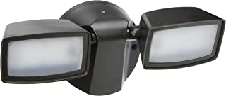 EATON Lighting FT1850LPC PC Dusk to Dawn Twin Head Floodlight With Photo Control, LED Lamp, 120 VAC, Bronze