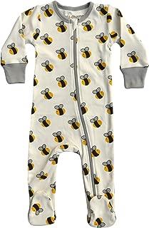 Organic Unisex Baby Footie Pajamas