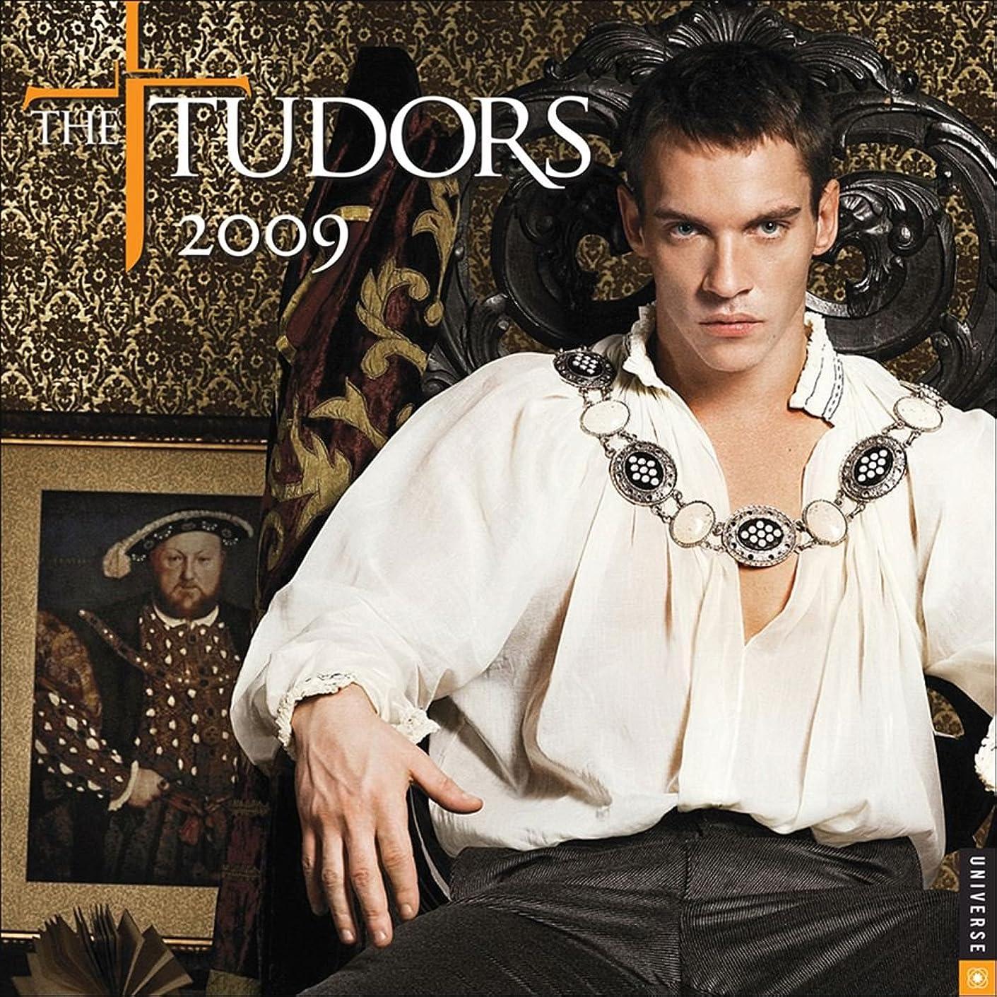 忘れる浸食幹The Tudors: 2009 Wall Calendar